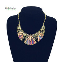 2016  women fashion bohemian necklace&pendants modern hippie vintage big name choker necklace tribal ethnic boho mujer accessory