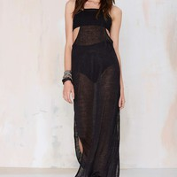 Dylan Sheer Maxi Top