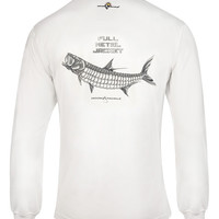 Men's Full Metal Jacket L/S UV Fishing T-Shirt