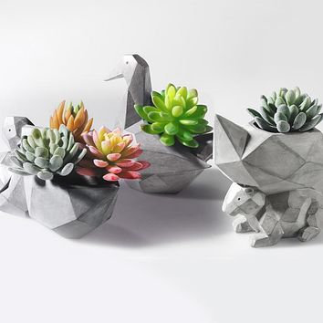 Modern Succulent Planter Pot (Plant not included)