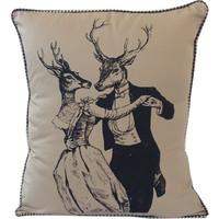 Dancing Deer Pillow