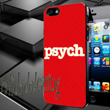 psych usa Case For iPhone 4/4s, iPhone 5/5S/5C, Samsung S3 i9300, Samsung S4 i9500 *rafidodolcasing*