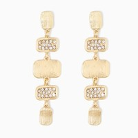 Haverly Metal Drop Earrings | Fashion Jewelry - Earrings | charming charlie