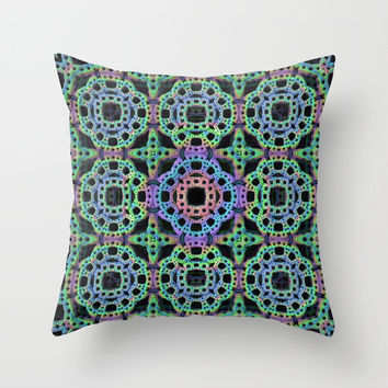 Crochet Pattern Throw Pillow by Lyle Hatch