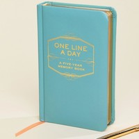 One Line a Day 5 Year Memory Book at asos.com