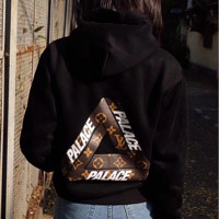 LV X PALACE Women Hot Hoodie Cute Sweater