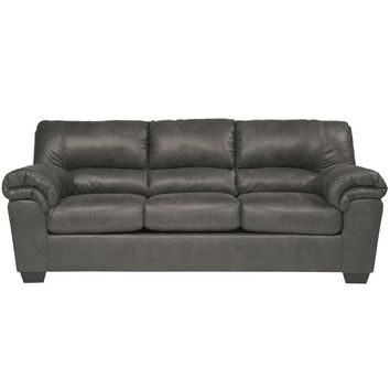 Signature Design by Ashley Bladen Sofa in Slate Faux Leather [FSD-1209SO-SLA-GG]