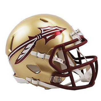 FSU FLORIDA STATE SEMINOLES RIDDELL SPEED FOOTBALL MINI HELMET 8029935