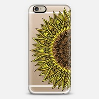 Sunflower Sunshine iPhone 6 case by Brita Lynn Thomspon | Casetify