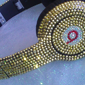 Custom Blinged Out Beats by Dre Solo Including Beats or Send Your Own