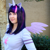 My Little Pony Ears, Pegasus Wings, and Unicorn Set (MLP, cosplay, halloween, party, convention, fun)