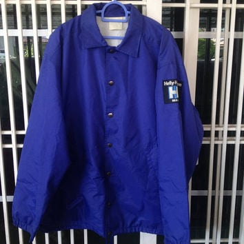 Vintage Helly Hansen Sea Life button down jacket