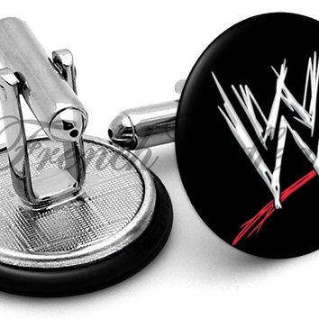 WWE World Wrestling Cufflinks
