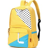 lovely POINT canvas backpack bag