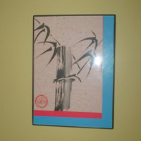 Bamboo Sumi-e Original Asian OOAK Painting Chinese Painting