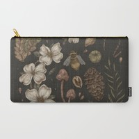 Nature Walks Carry-All Pouch by Jessica Roux