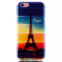 Eiffel Tower Blue Light creative case Cover for iPhone & Samsung Galaxy S6  Unique iPhone 6s Plus