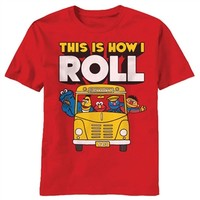 Sesame Street This Is How I Roll Shirt |Vintage TV Show T-Shirt