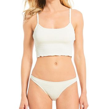 Billabong Sun Rise Textured Beach Cami Swimsuit Top & Tropic Bikini Swimsuit Bottom | Dillard's