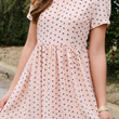 Love Me Like You Mean It Rose Heart Print Dress