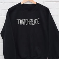 Thatcherjoe Name Jumper Youtube Male Female FAN Joe Sugg vlogger Hoody GIFT R476