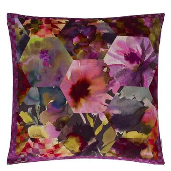 Designers Guild Kashmiri Magenta Decorative Pillow