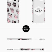 iPhone case - 'Palmistry' - iPhone 5s case, iPhone 6s case, iPhone 6 Plus case, iPhone SE, iPhone 7, non-glossy hard shell D14