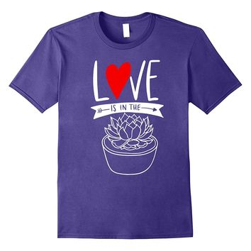 Succulent Lover Gift Funny T Shirt