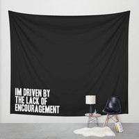Driven Wall Tapestry by HappyMelvin