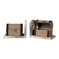 Travellers Trunk Bookends * * *
