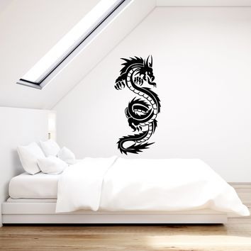 Vinyl Wall Decal Chinese Beautiful Dragon Fantasy Decoration Room Art Stickers Mural (ig5405)