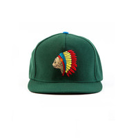 NATIVE CAT SNAPBACK DARK GREEN – Odd Future