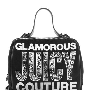 Glam Goddess Velour Barrel Crossbody by Juicy Couture