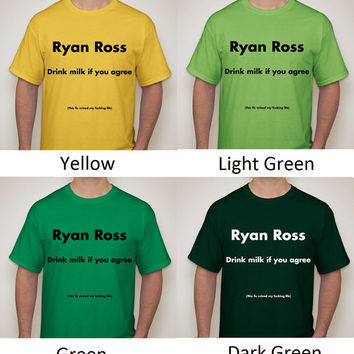 Ryan Ross Milk Fic T-shirt (20 colors to choose from!)