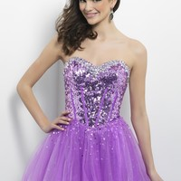 Homecoming dresses by Blush Prom Homecoming Style 9655