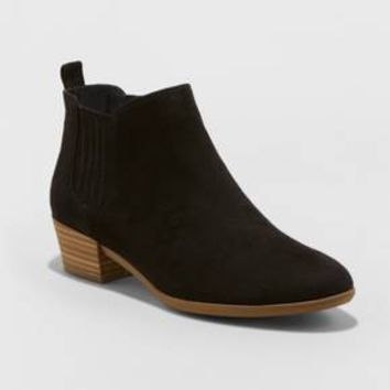 Women's Fawn Low Chelsea Booties - A New Day™