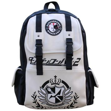 Free shipping Dangan Ronpa danganronpa Monokuma Shoulder Backpack Schoolbag High quality Travel Men and Women Backpack kid's bag