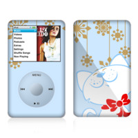 The Happy Winter Cartoon Cat Skin For The Apple iPod Classic