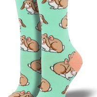 Some Bunny's Adorable Women's Crew Socks