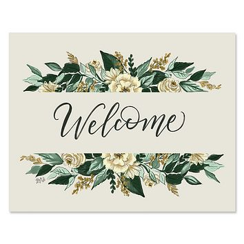 Botanical Welcome - Print & Canvas