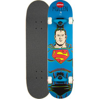 Almost Skateboards Mullen Superman Full Complete Skateboard Blue One Size For Men 24507820001