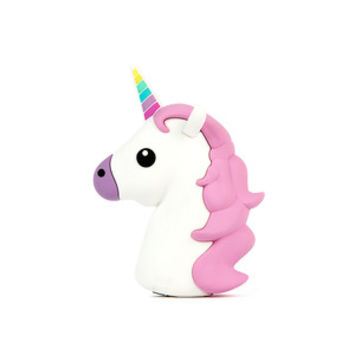 So into this design on Fab! Unicorn Emoji Portable Charger #FabForAll