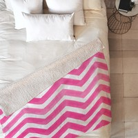 Rebecca Allen The Powder Room Fleece Throw Blanket