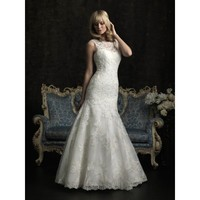 Tulle and Lace Mermaid Vintage Bridal Gown