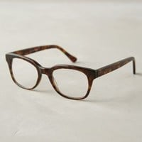 Gillian Reading Glasses by Anthropologie Brown Motif