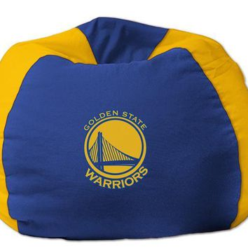 Golden State Warriors NBA Bean Bag