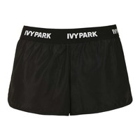Logo Waistband Runner Shorts by Ivy Park - Topshop