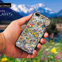 All Character Pokemon case for iPod 4th 5th,iPhone 5,5s,5c,4,4s,6,6+,LG Nexus,HTC One,Galaxy S3,S4,S5,Note 2,3