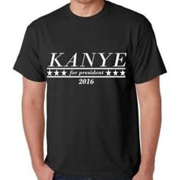 Kanye West for President 2020 Men's T Shirt Funny Humor MTV Awards Hip Hop Rap