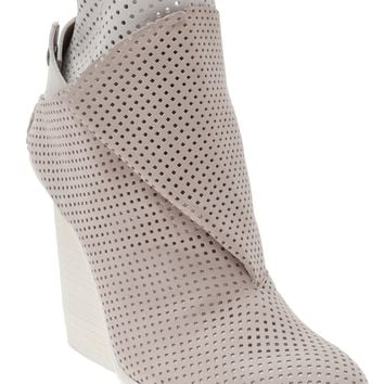 Complex Geometries X Ld Tuttle Perforated Wedge Bootie